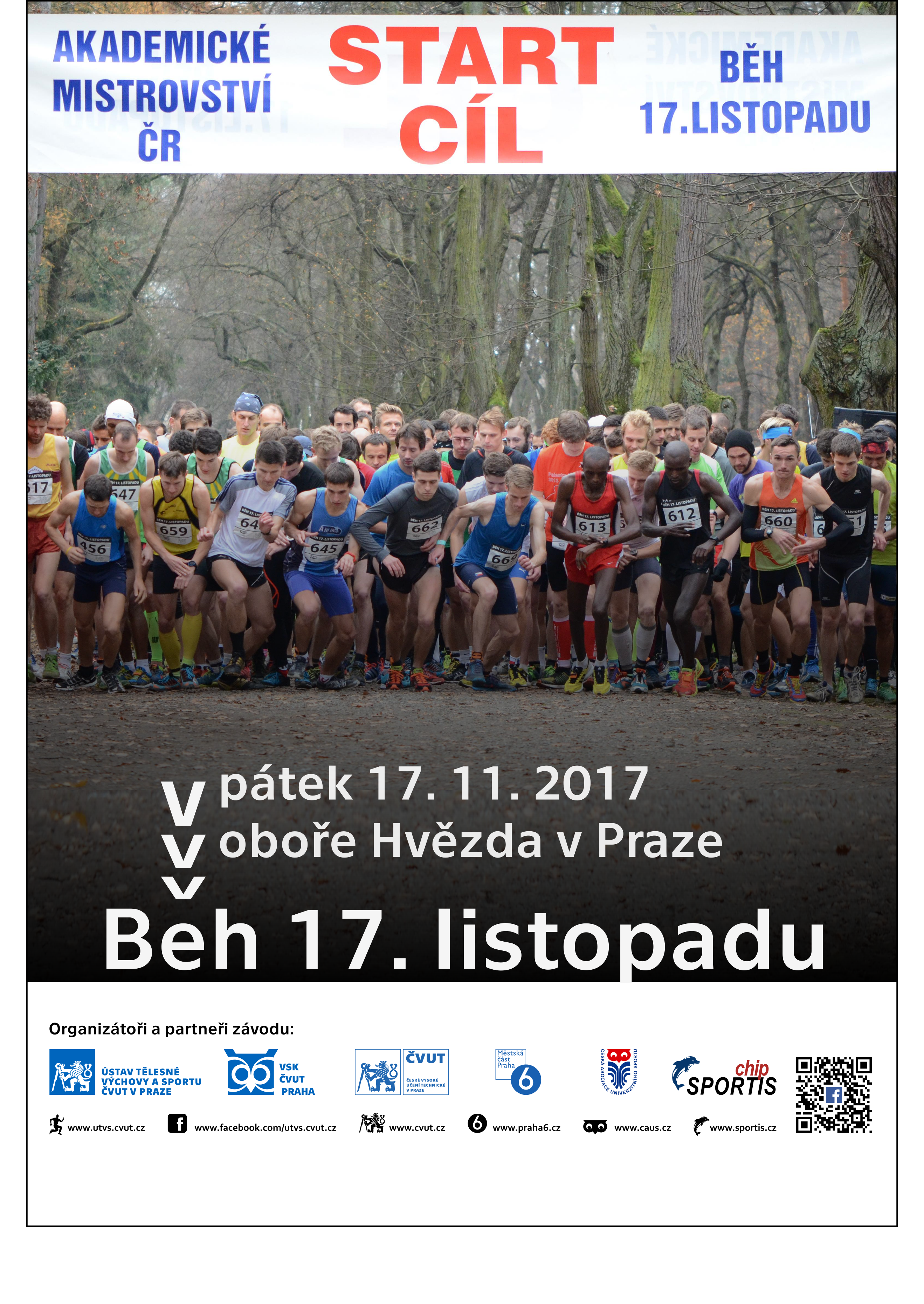 Běh 17. listopadu 2017 - FJFI ČVUT v Praze a4b7faa5d6