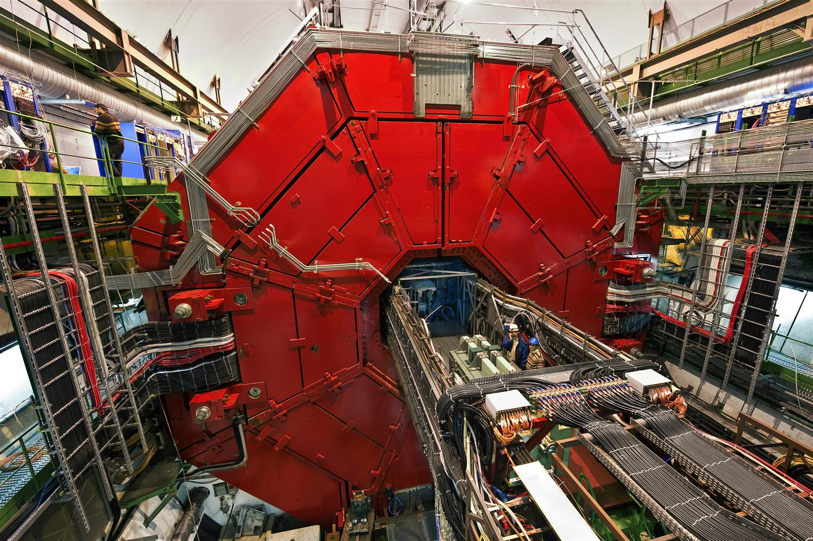 CERN experiment ALICE