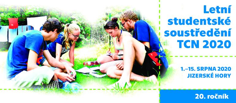 Letní studentské soustředění TCN